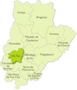 vila flor mapa Resíduos do Nordeste, EIM   Sobre nós   Os Concelhos vila flor mapa