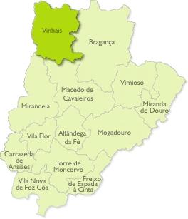 vinhais mapa Resíduos do Nordeste, EIM   Sobre nós   Os Concelhos vinhais mapa